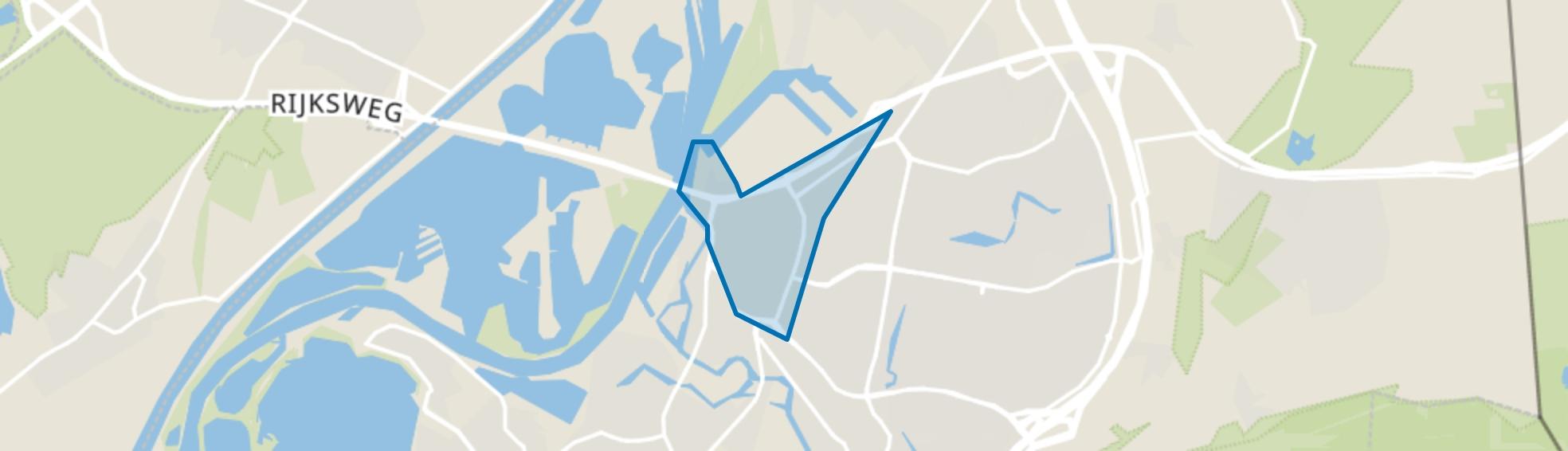Binnenstad, Roermond map