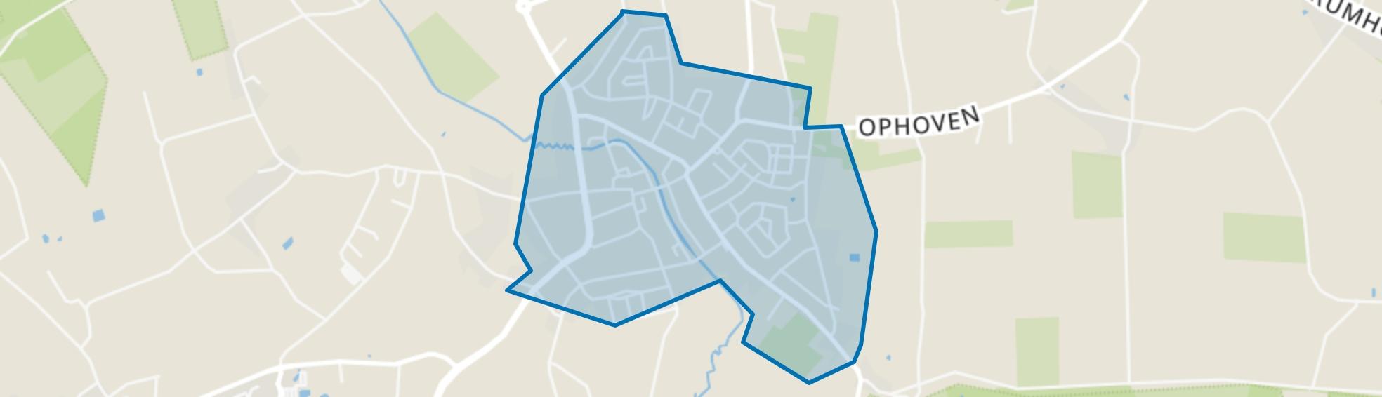 Kern Roggel, Roggel map