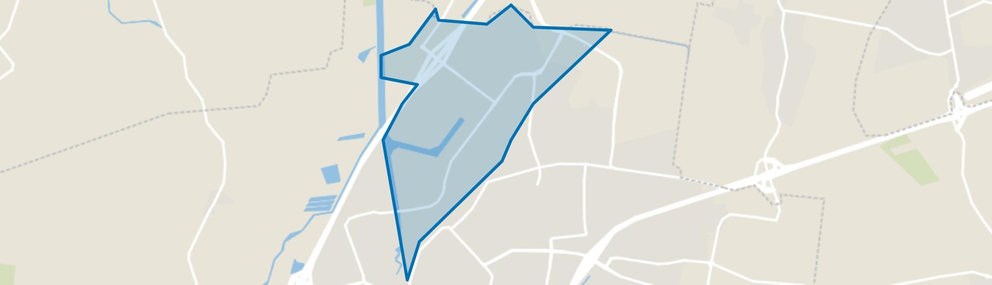 Borchwerf-Noord, Roosendaal map