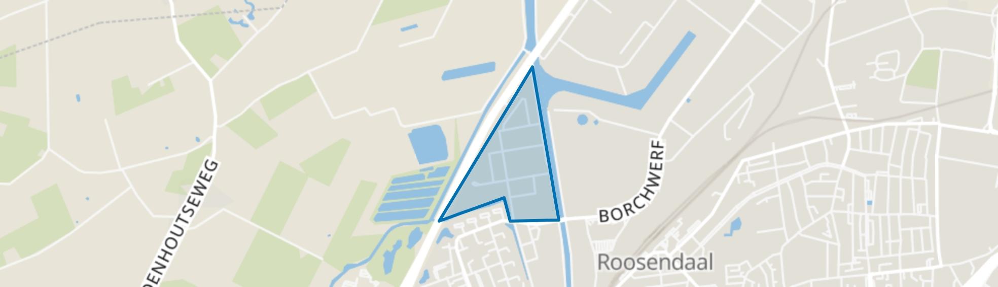 Borchwerf-Zuid, Roosendaal map