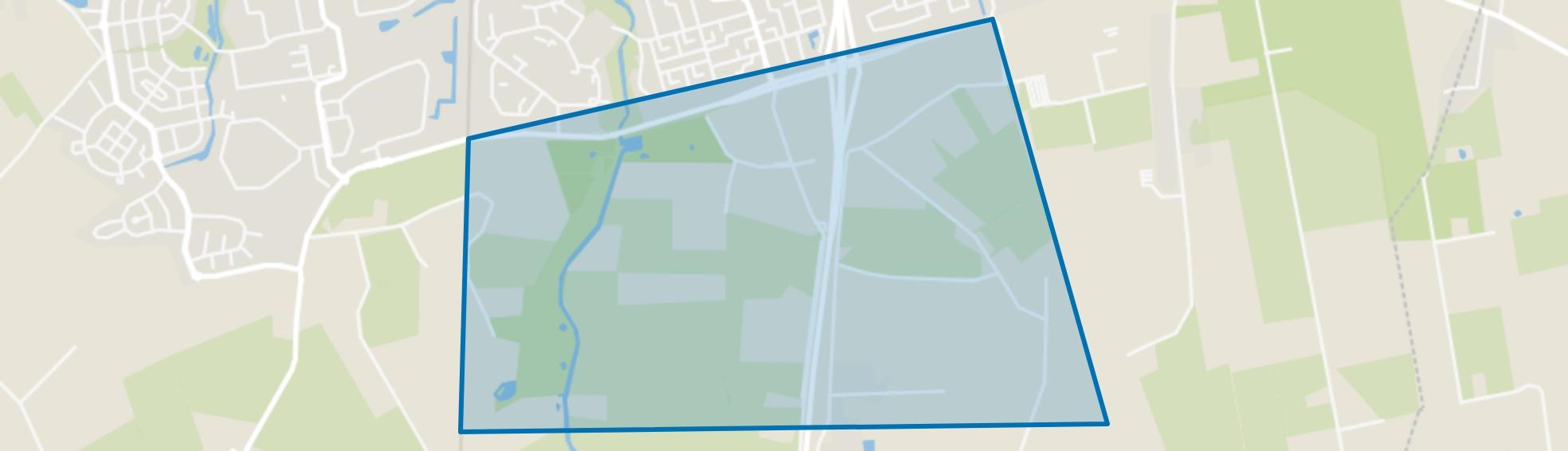 Borteldonk, Roosendaal map