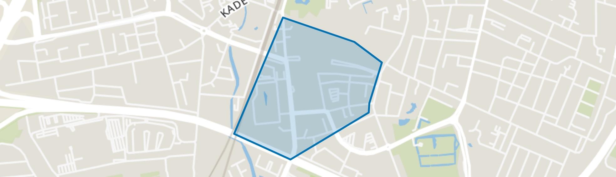 Centrum-Nieuw, Roosendaal map