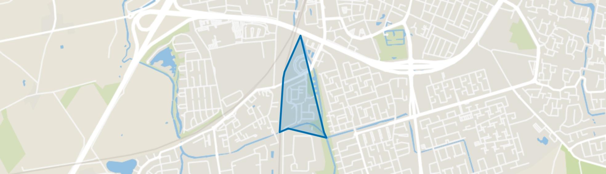 De Krogten, Roosendaal map