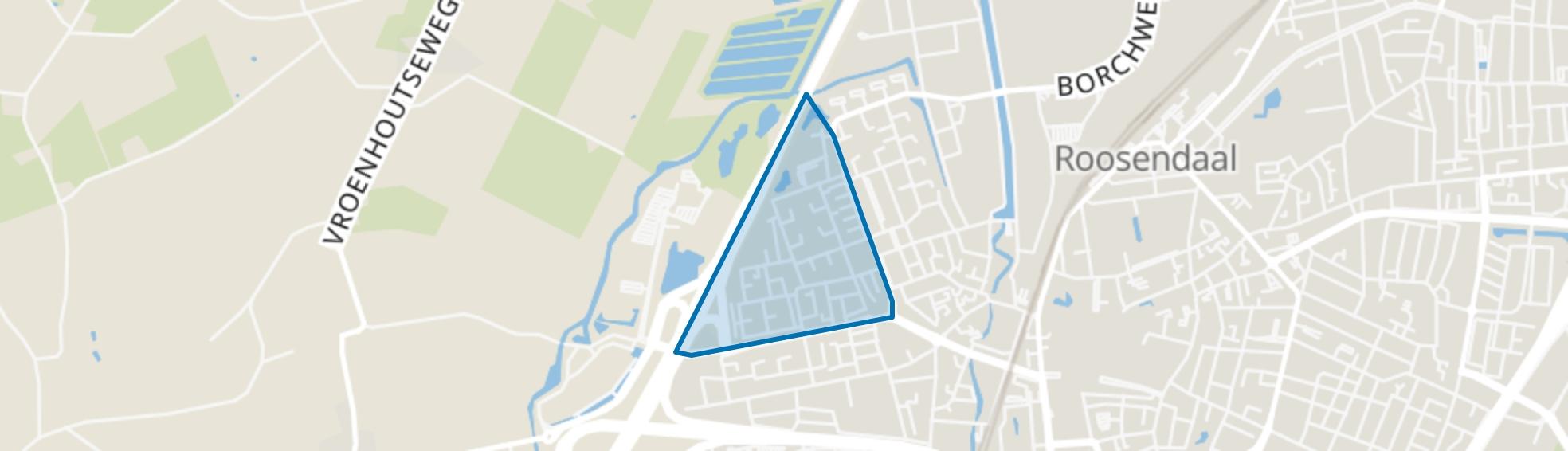 Ettingen, Roosendaal map