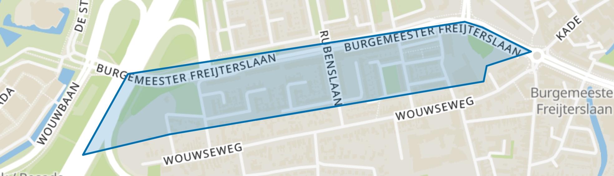 Herreweg, Roosendaal map