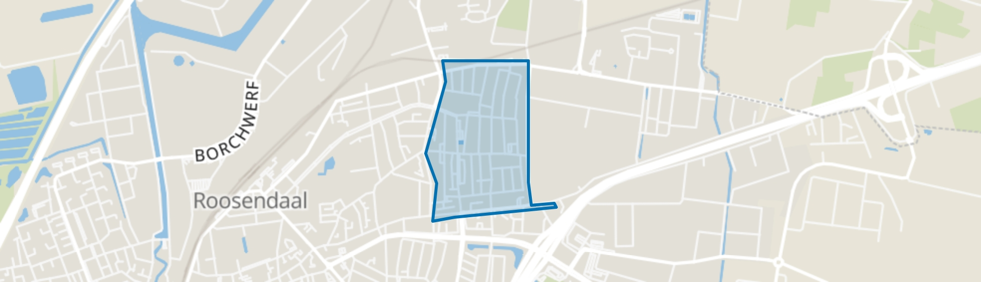 Kalsdonk, Roosendaal map
