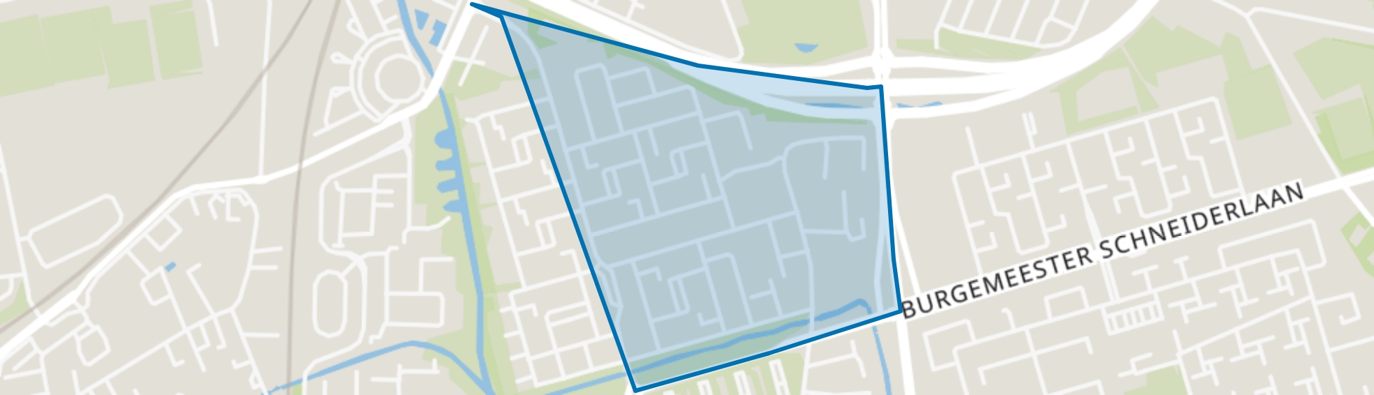 Kroeven-Noordoost, Roosendaal map