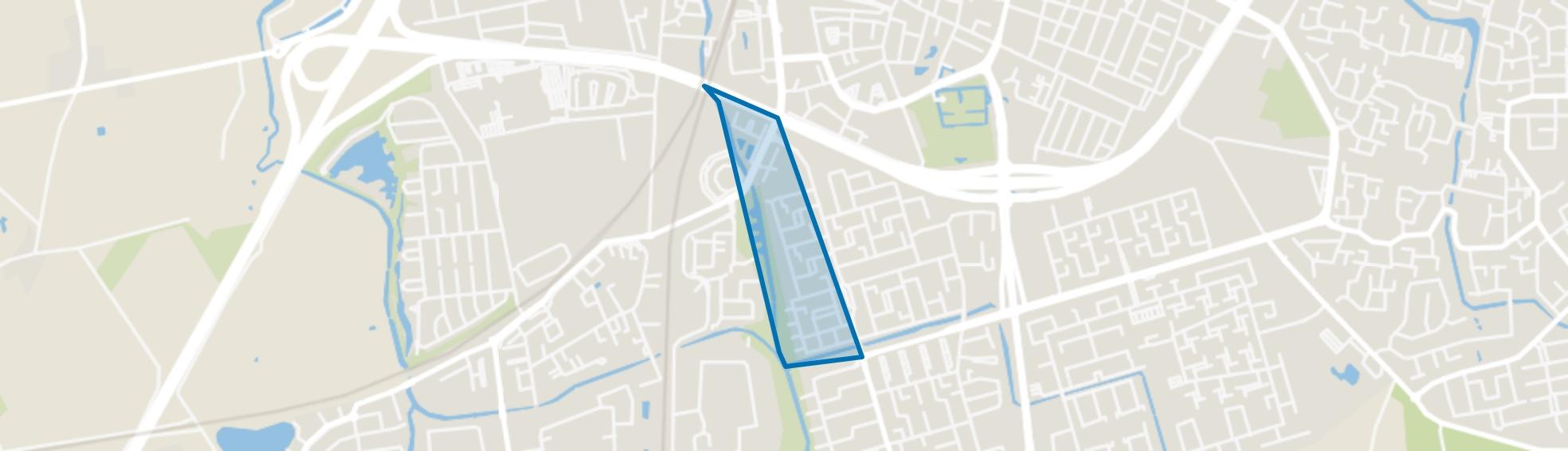 Kroeven-Noordwest, Roosendaal map