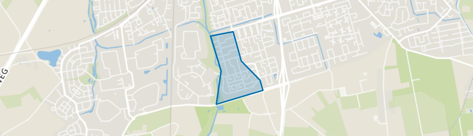 Kroeven-Zuidwest, Roosendaal map