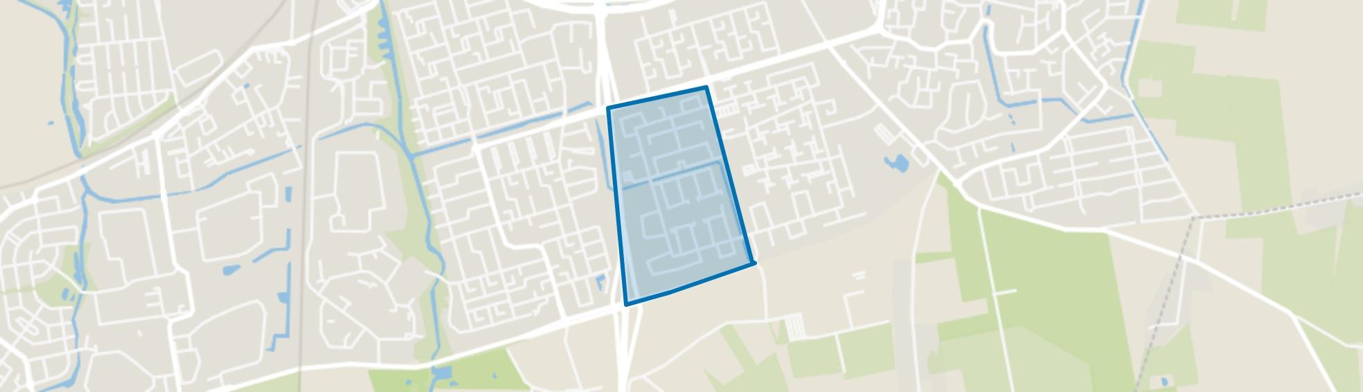 Langdonk-West, Roosendaal map