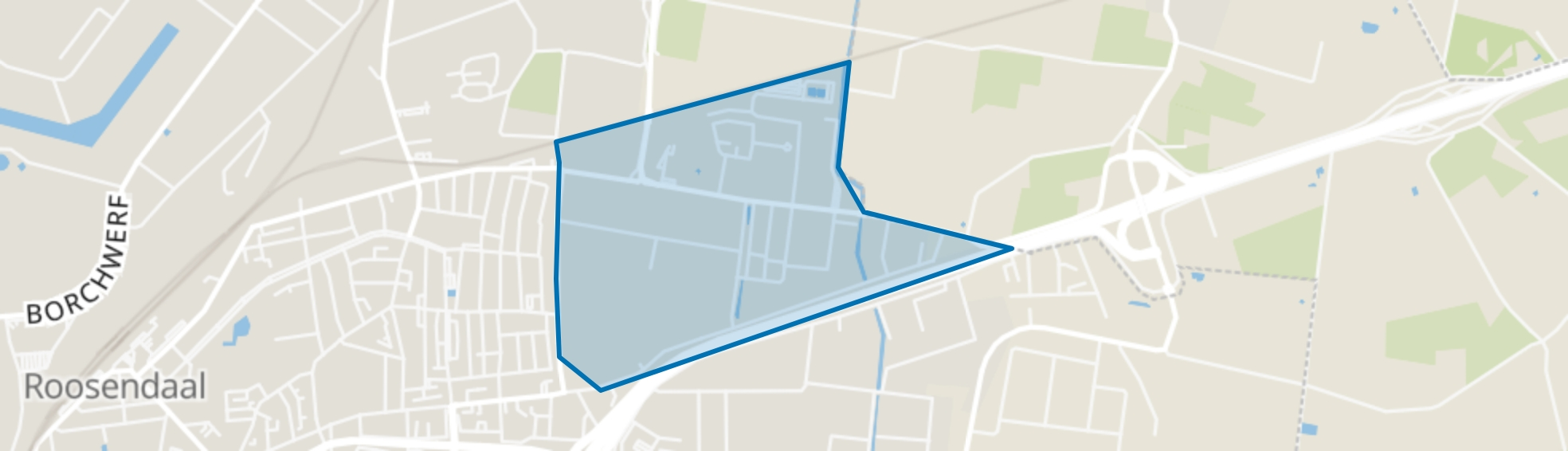 Majoppeveld-Noord, Roosendaal map