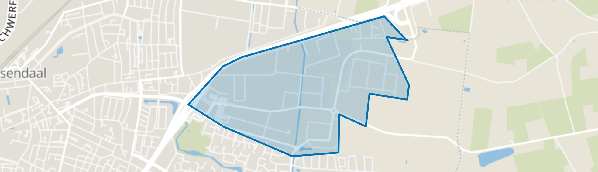Majoppeveld-Zuid, Roosendaal map