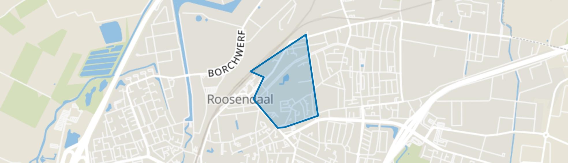 Parklaan-Hoogstraat, Roosendaal map