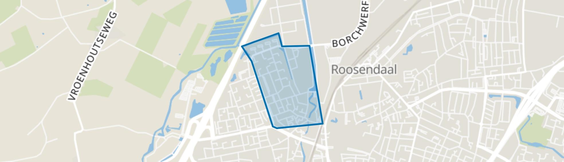 Scherpdeel, Roosendaal map
