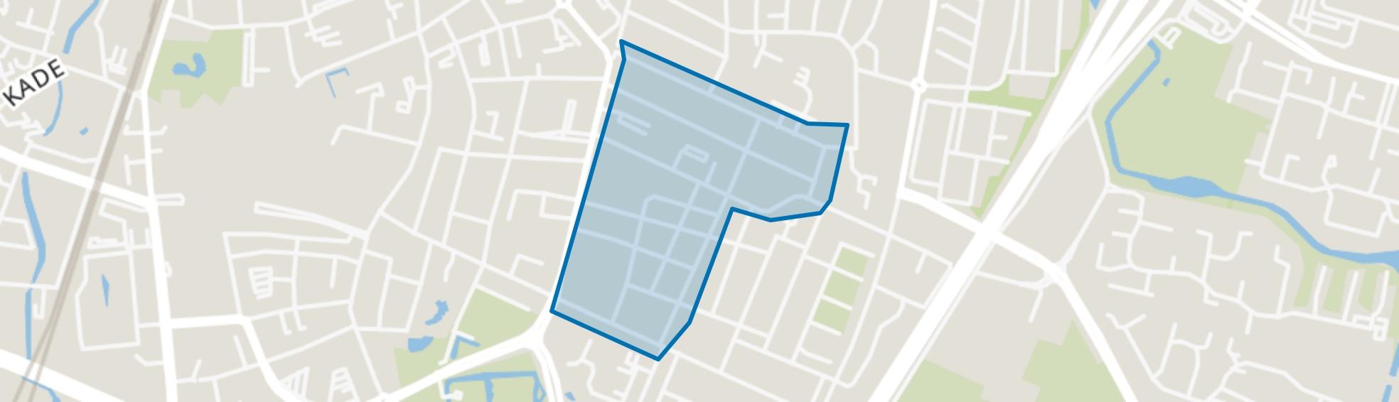 Sint Josephbuurt, Roosendaal map