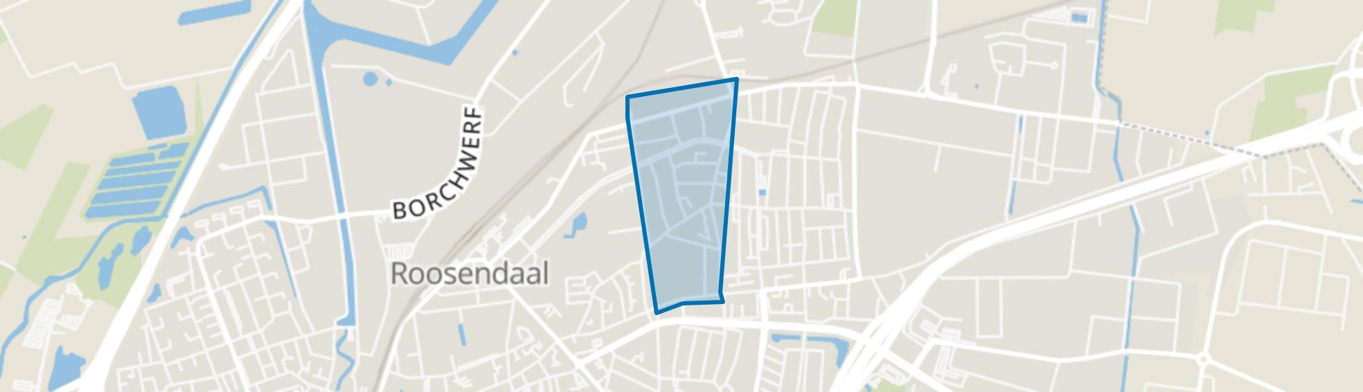 Spoorstraat-Van Coothlaan, Roosendaal map