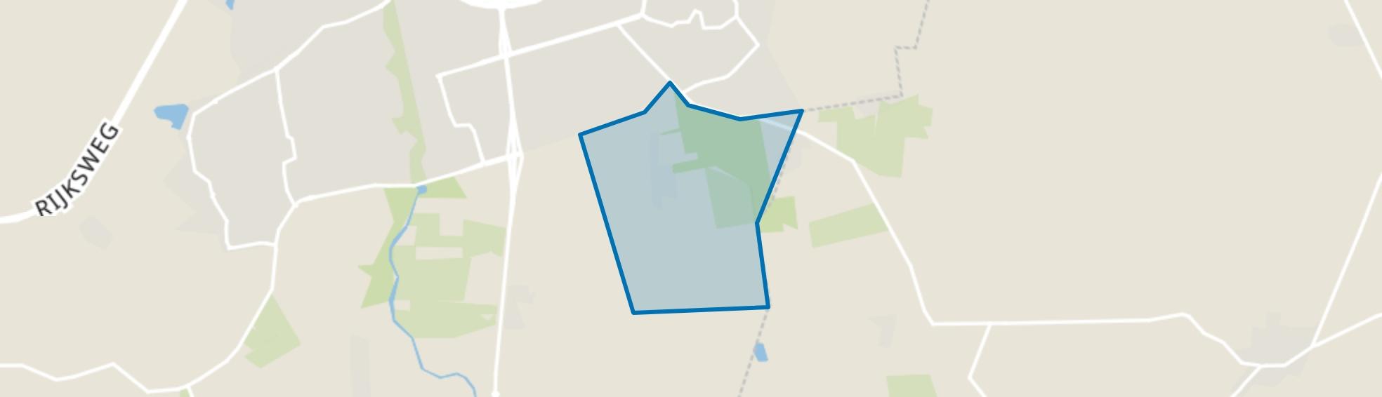 Vierhoeven, Roosendaal map