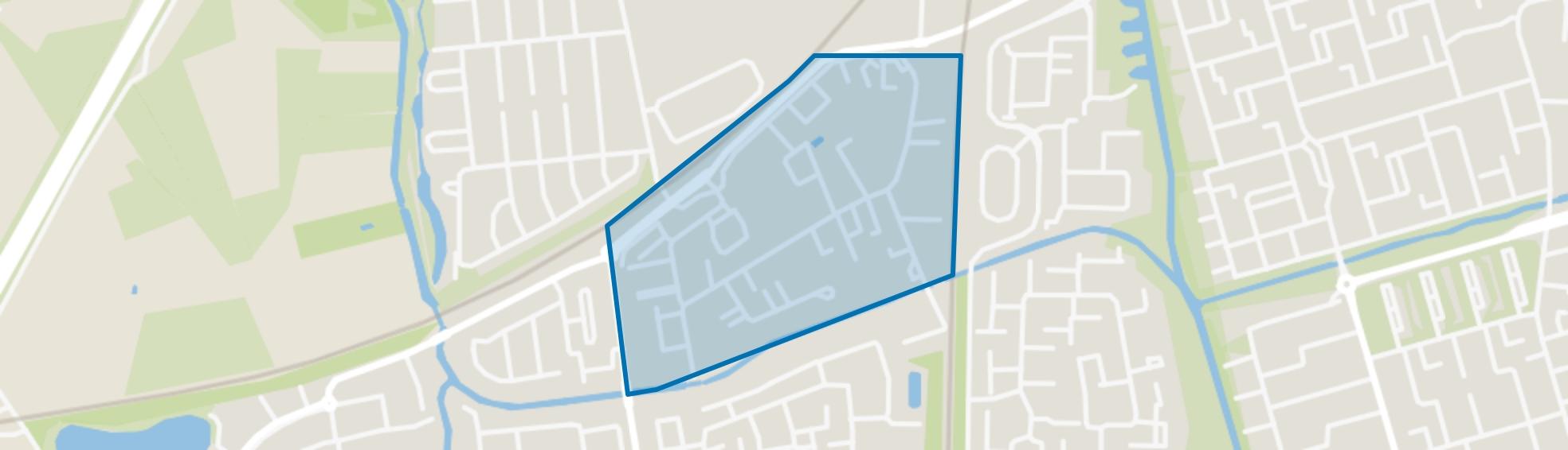 Vijfhuizenberg, Roosendaal map