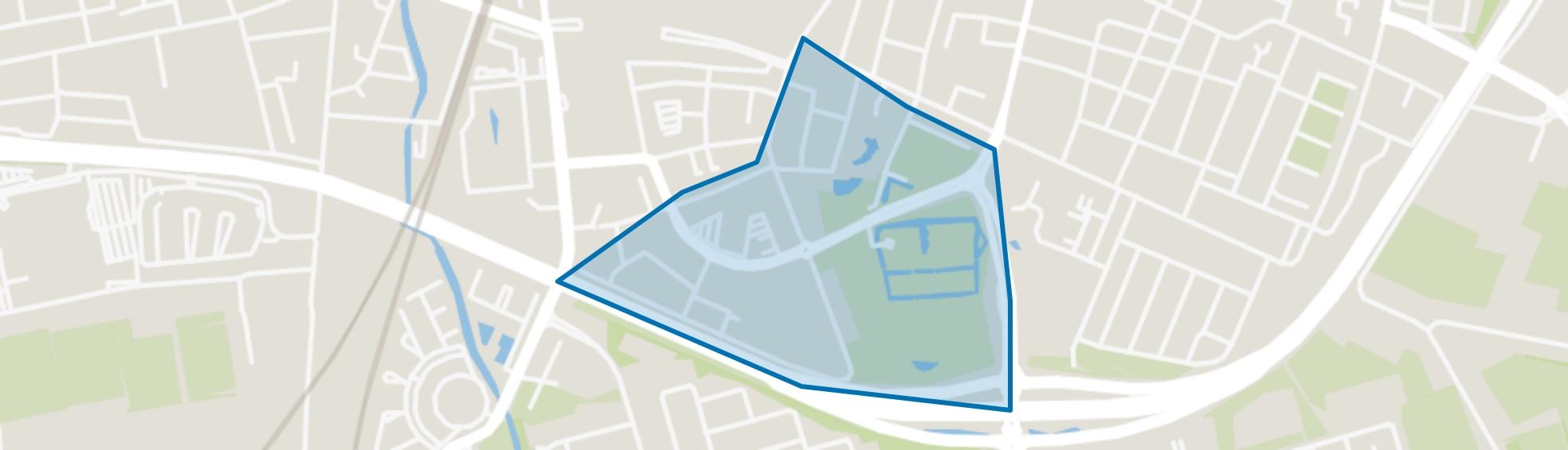 Vrouwenhof, Roosendaal map