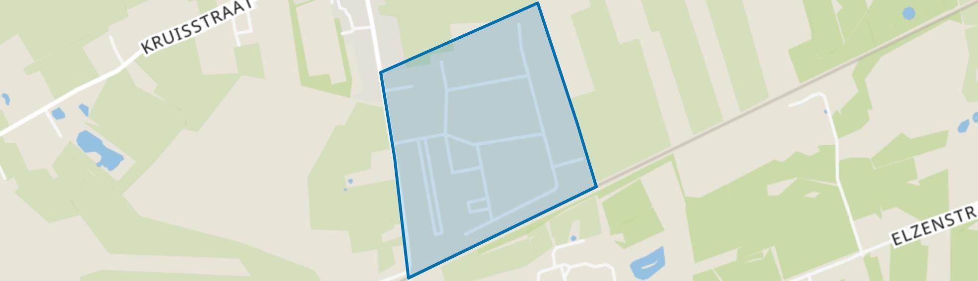 Bedrijventerrein Kruisstraat, Rosmalen map
