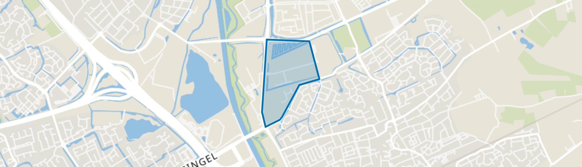 De Groote Vliet, Rosmalen map