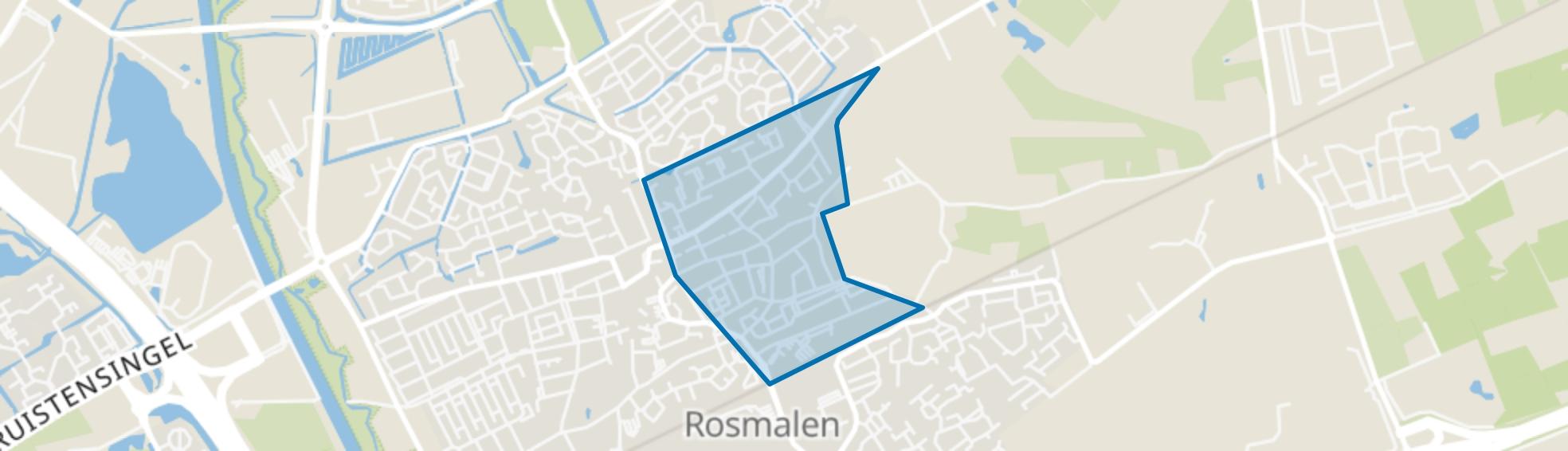 Hondsberg, Rosmalen map