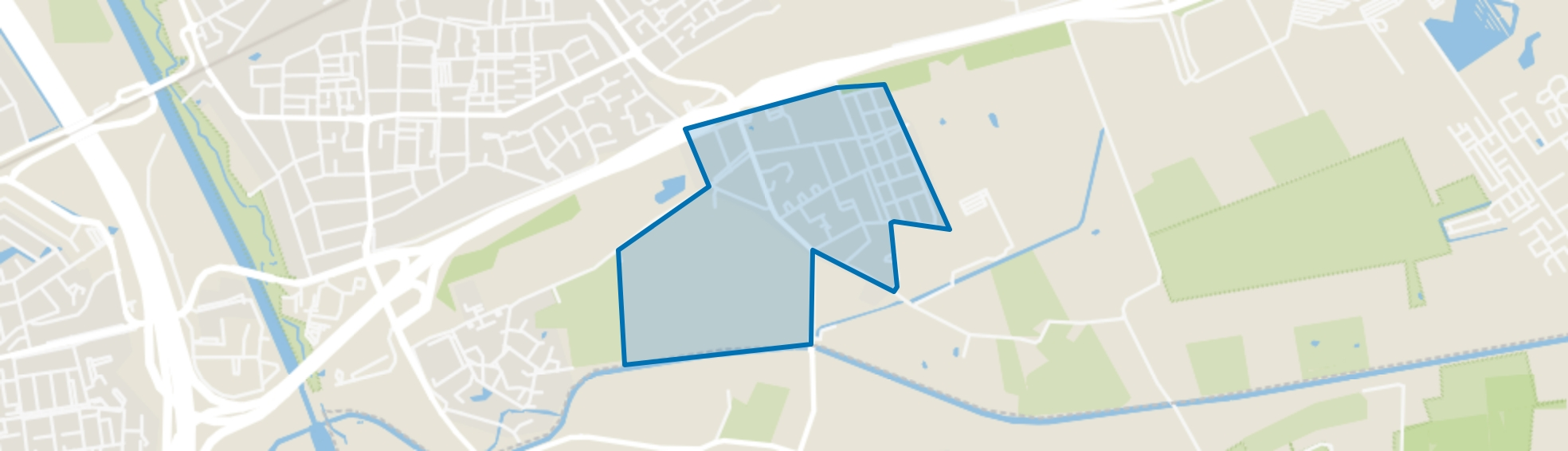 Maliskamp-Oost, Rosmalen map