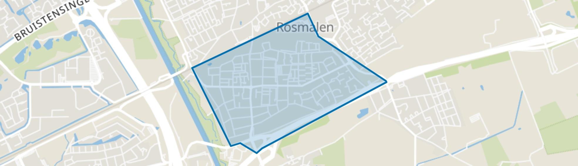 Molenhoek, Rosmalen map