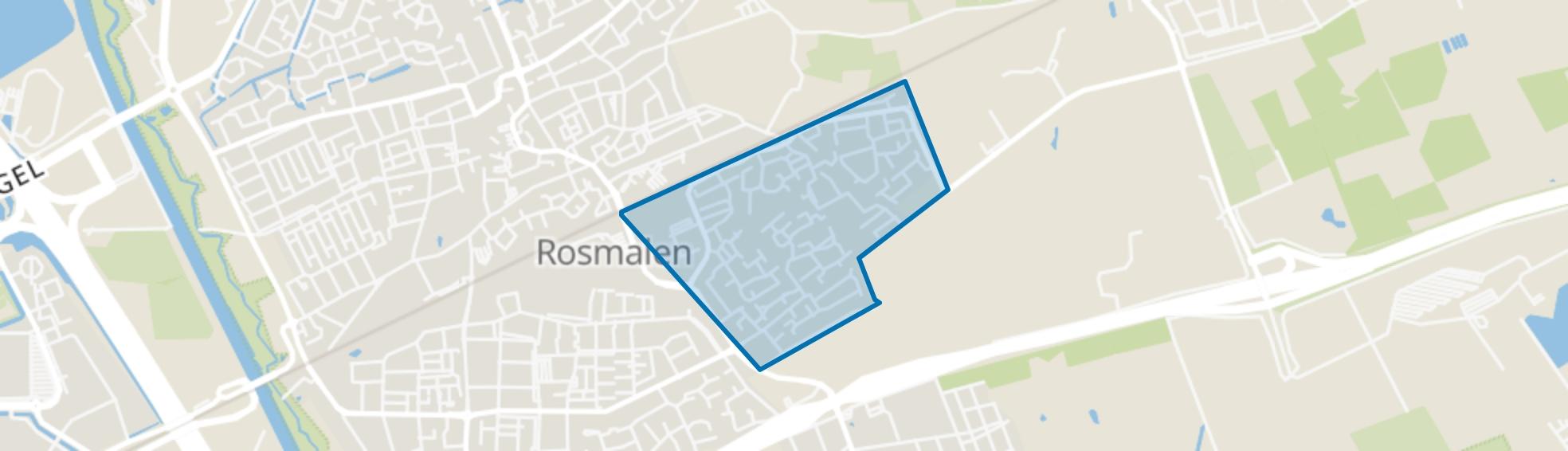 Sparrenburg, Rosmalen map
