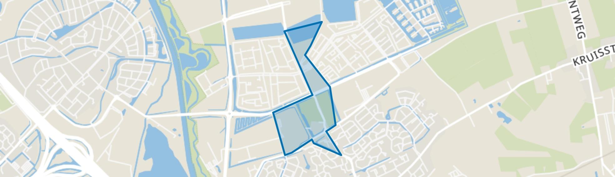 Vlietdijk, Rosmalen map