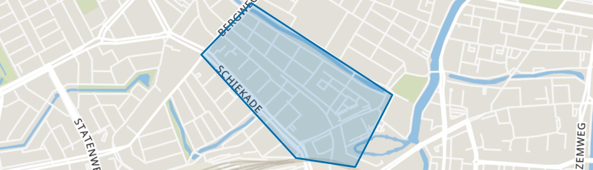 Agniesebuurt, Rotterdam map