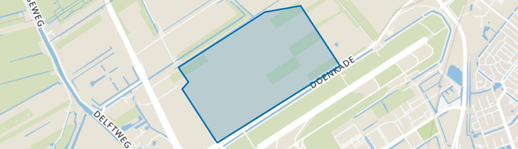 Bedrijventerrein Schieveen, Rotterdam map