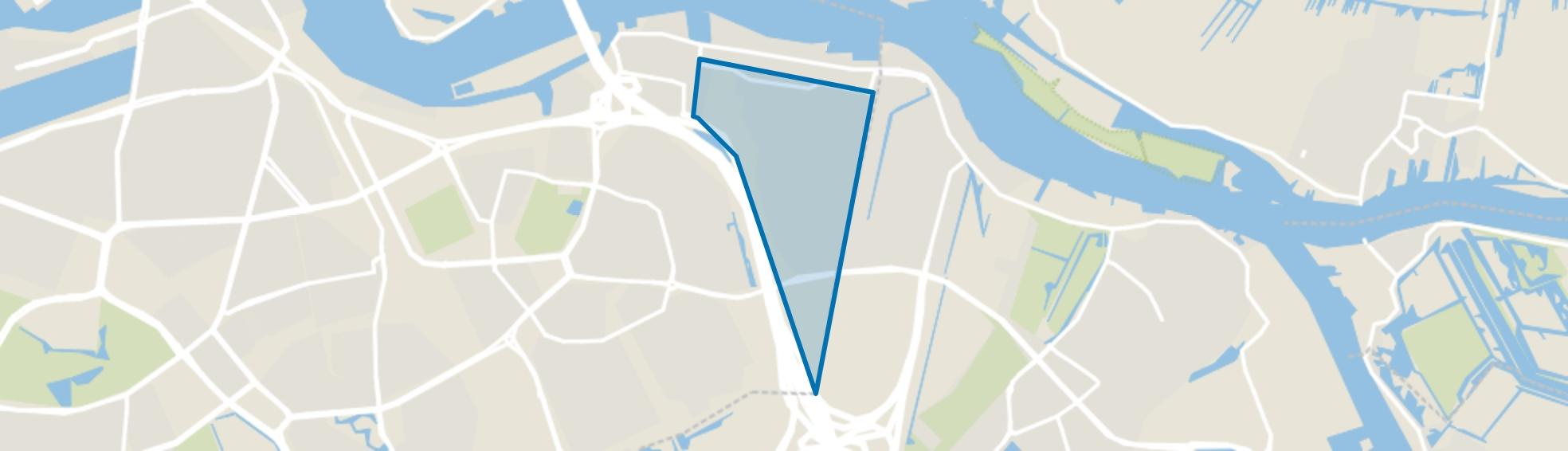 Beverwaard, Rotterdam map