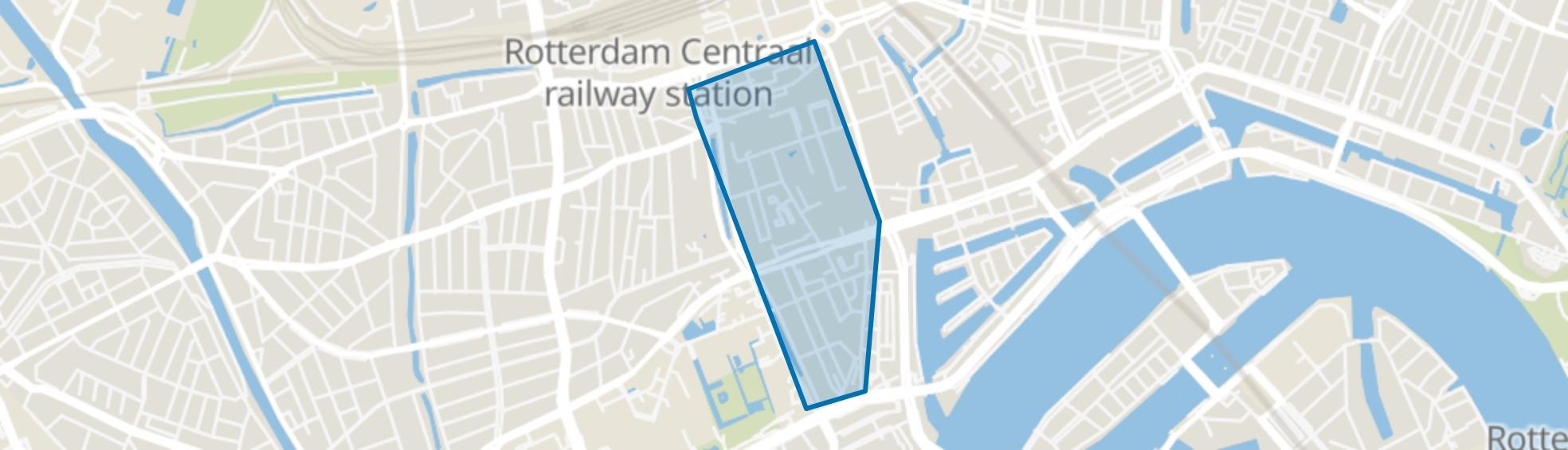 Cool, Rotterdam map