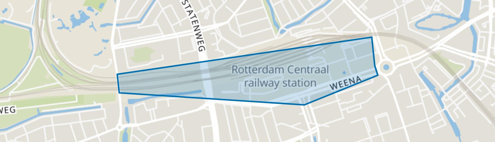 Cs Kwartier, Rotterdam map