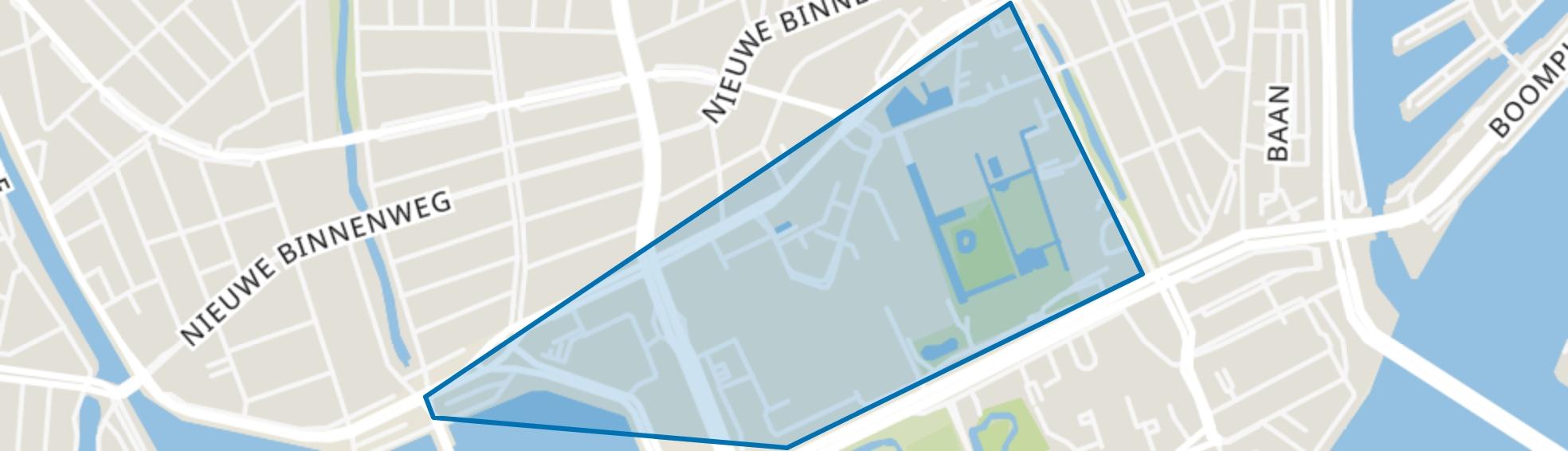 Dijkzigt, Rotterdam map