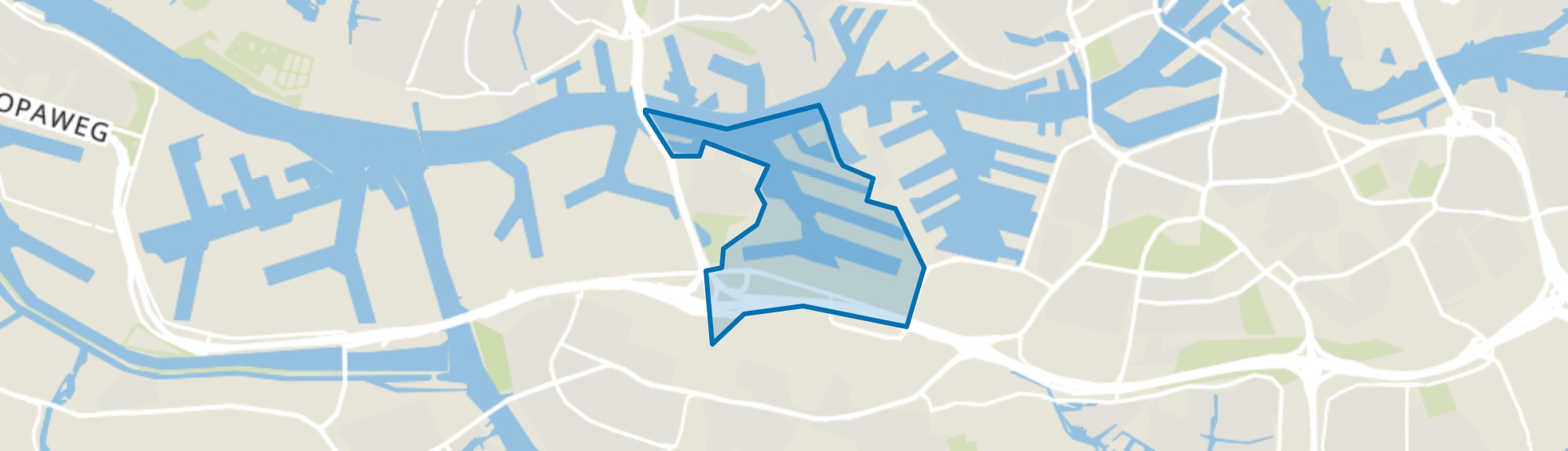 Eemhaven, Rotterdam map