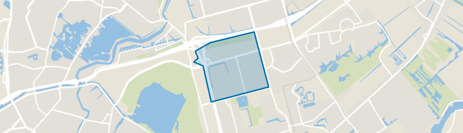 Het Lage Land, Rotterdam map