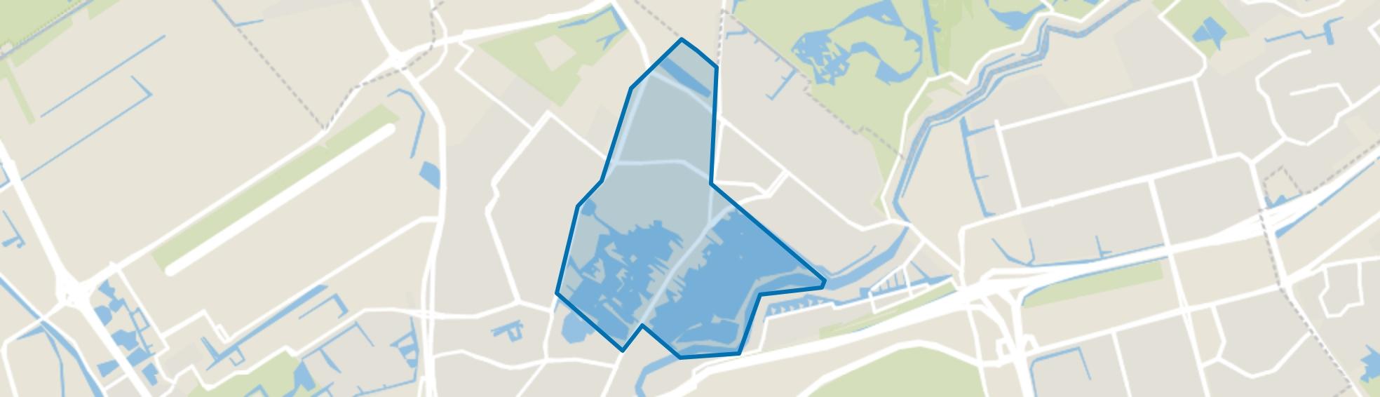 Hillegersberg Noord, Rotterdam map