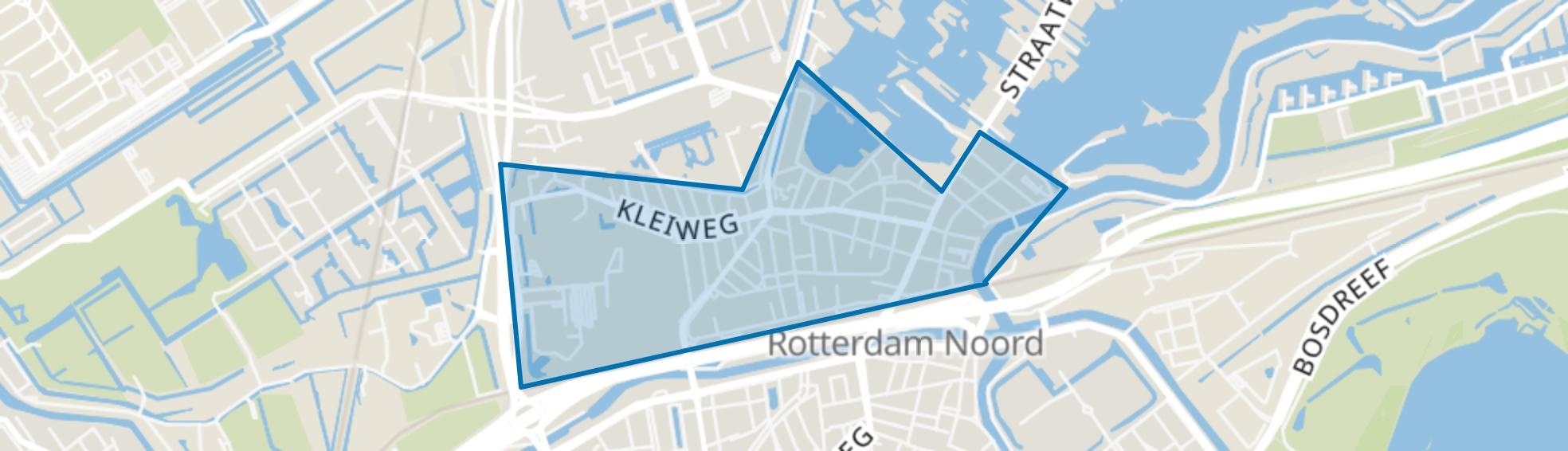 Hillegersberg Zuid, Rotterdam map