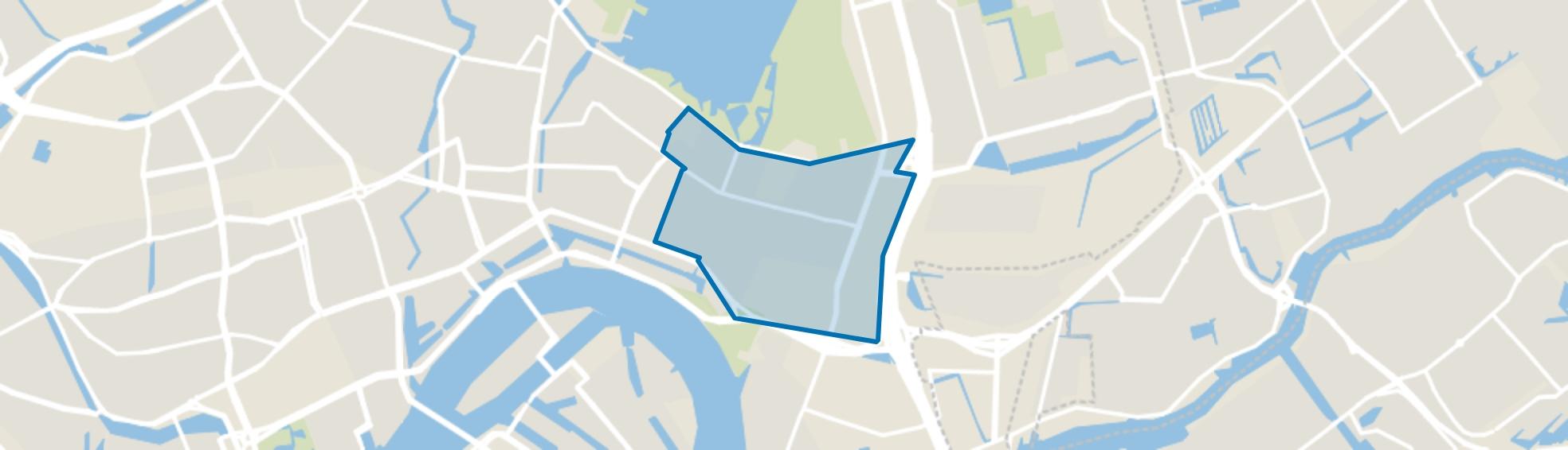 Kralingen Oost, Rotterdam map
