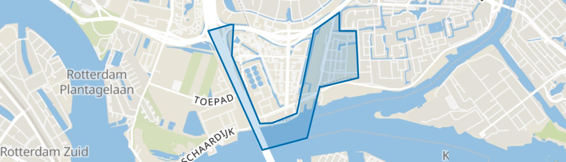 Kralingseveer, Rotterdam map