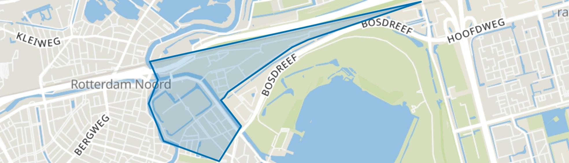 Nieuw Crooswijk, Rotterdam map