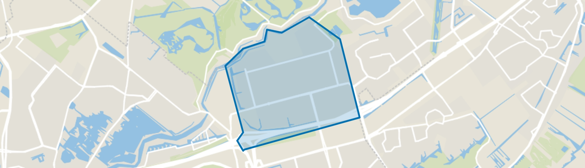 Ommoord, Rotterdam map