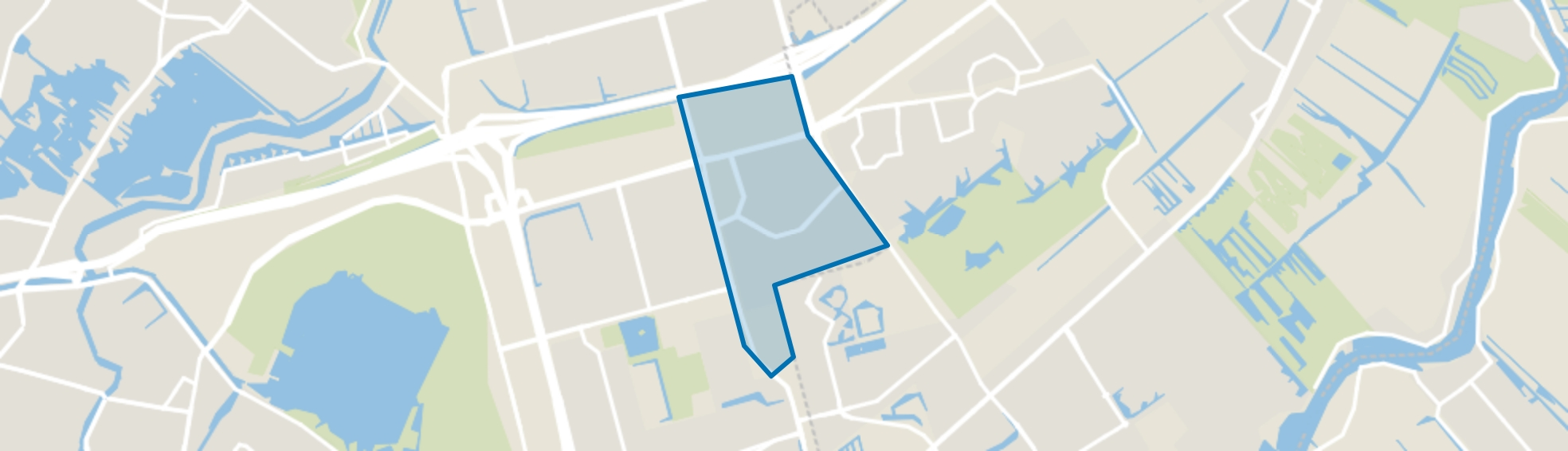 Oosterflank, Rotterdam map