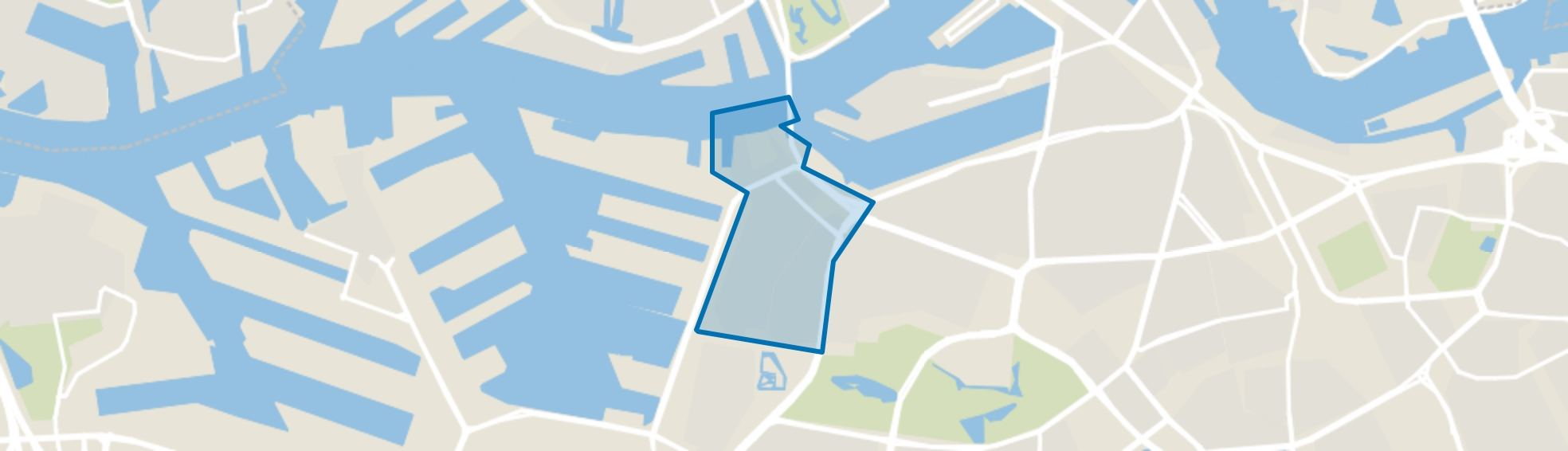 Oud Charlois, Rotterdam map