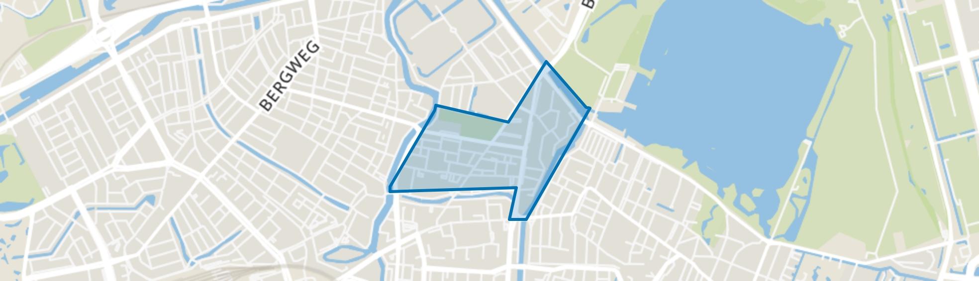 Oud Crooswijk, Rotterdam map
