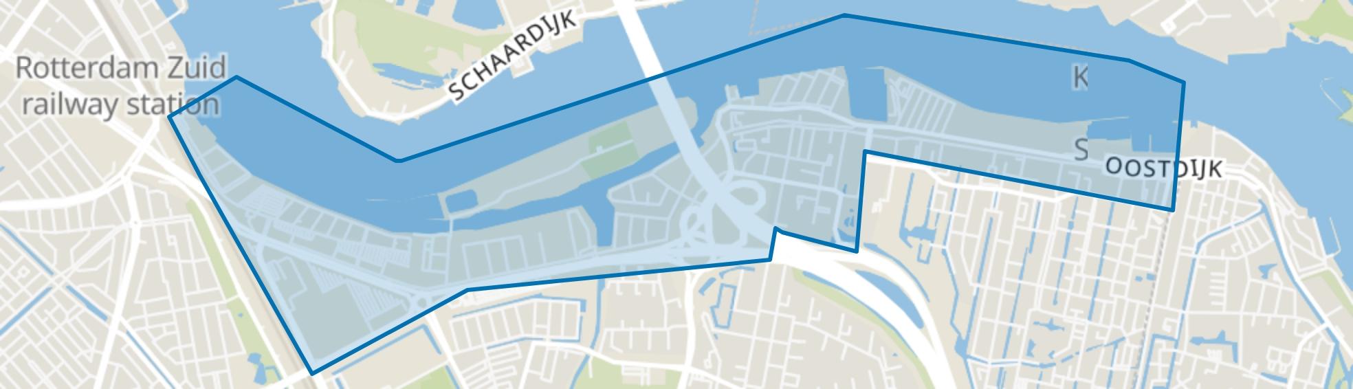 Oud IJsselmonde, Rotterdam map