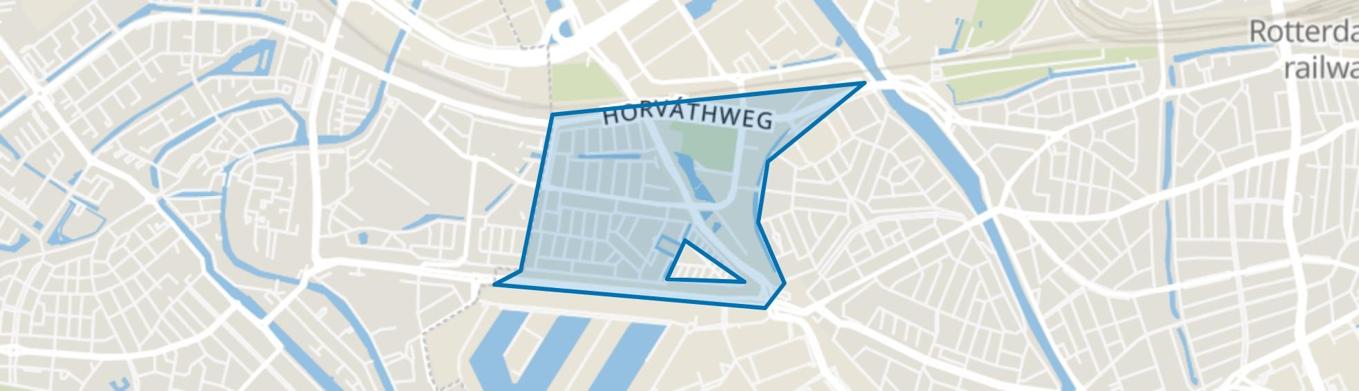 Oud Mathenesse, Rotterdam map
