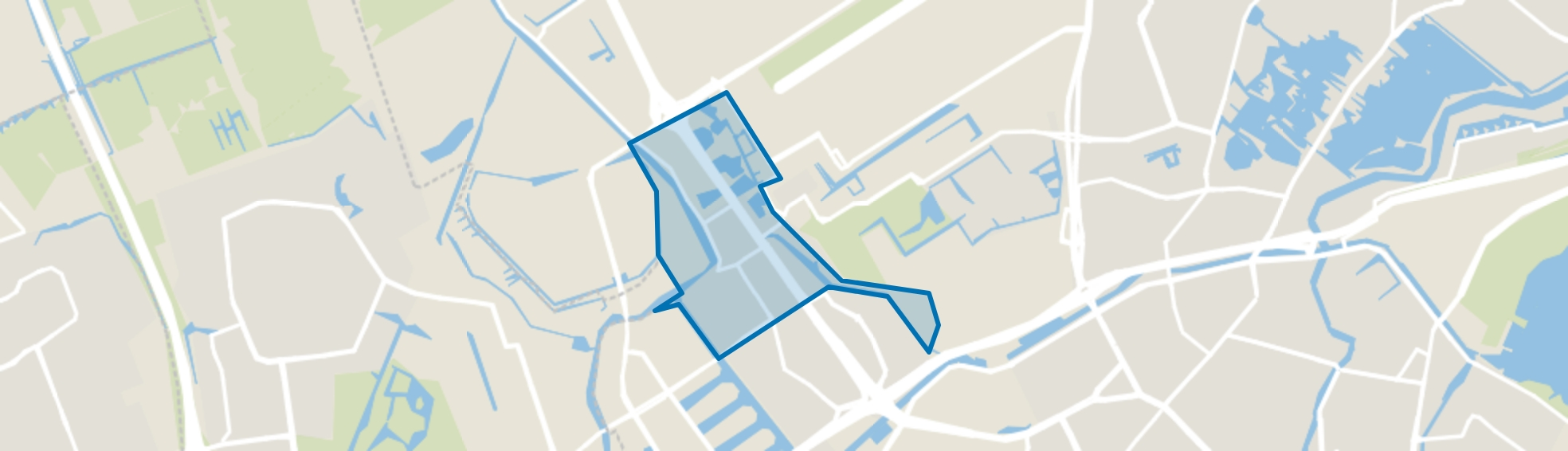 Overschie, Rotterdam map
